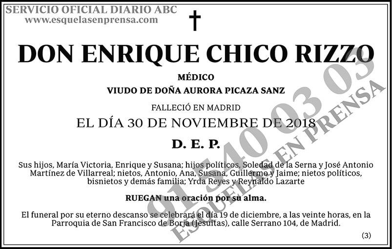Enrique Chico Rizzo
